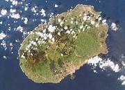 NASA-Johnson Space Isla Terceira, imagen por satélite