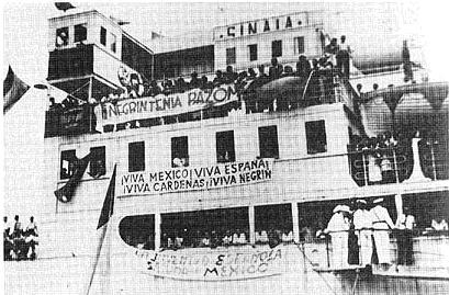 Llegada a Veracruz. Foto Foro por la memoria
