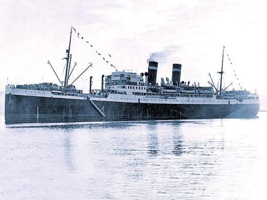 Sinaia, el buque