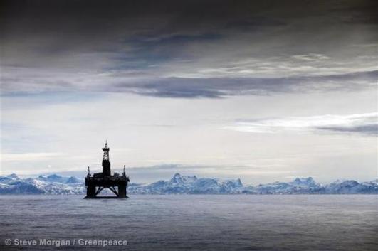 the Leiv Eiriksson Oil Rig