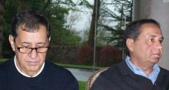 Julio y Tomás, hermanos del tercer maquinista asesinado
