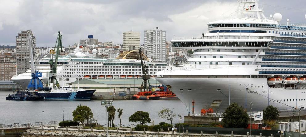 El Puerto de A Coruña. (EFE)