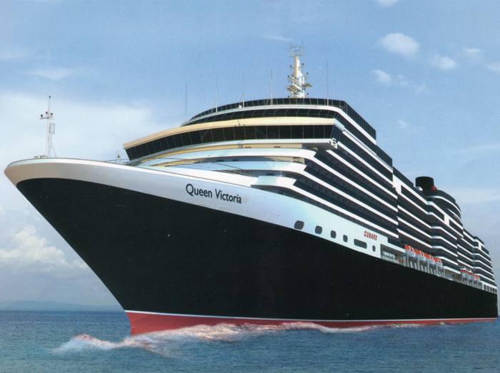 El barco Queen Victoria. / Cunard