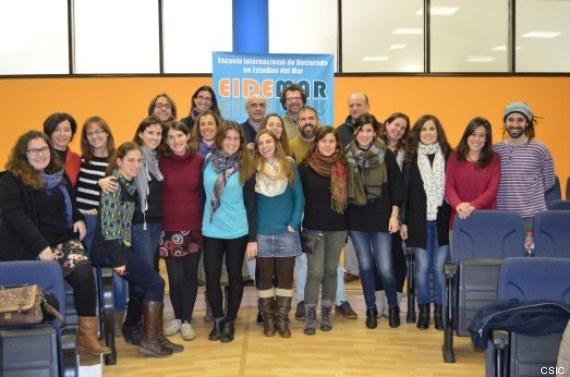 Reunión de jóvenes investigadores de la expedición celebrada en Cádiz hace unos días.