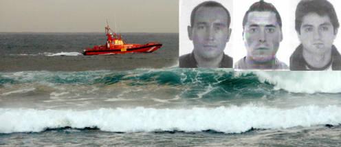 Javier López, Rodrigo Maseda y José Antonio Villamor