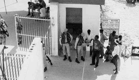 Check point en Mogadishu. /JOHN MARTÍNEZ (CC BY FLICKR)