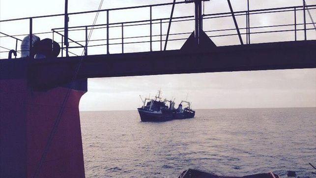 La corriente y el viento favorecen que un posible vertido no alcance Canarias