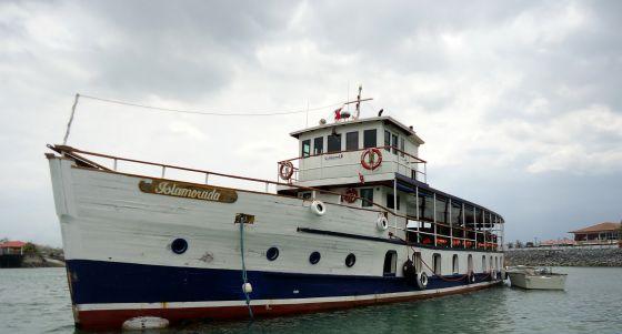 El buque de Al Capone en el Canal de Panamá