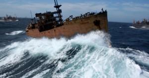 Imagen «histórica» del SS Cotopaxi