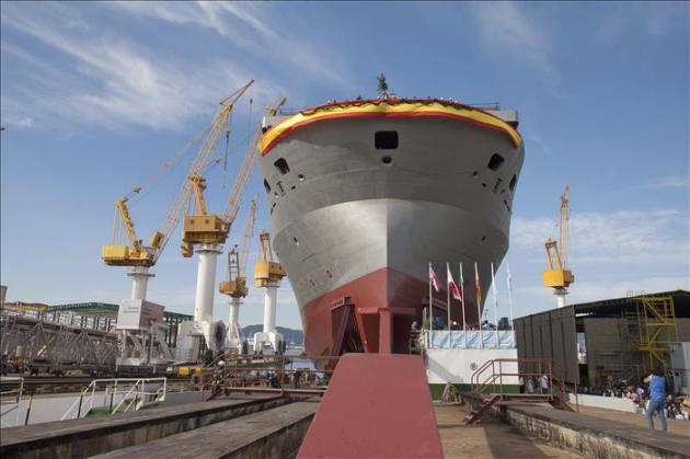 Agencia EFE - Vista del buque de apoyo offshore