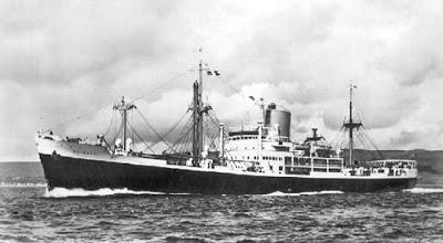 El SS Cotopaxi en navegación (Crédito: derbysulzers.com)
