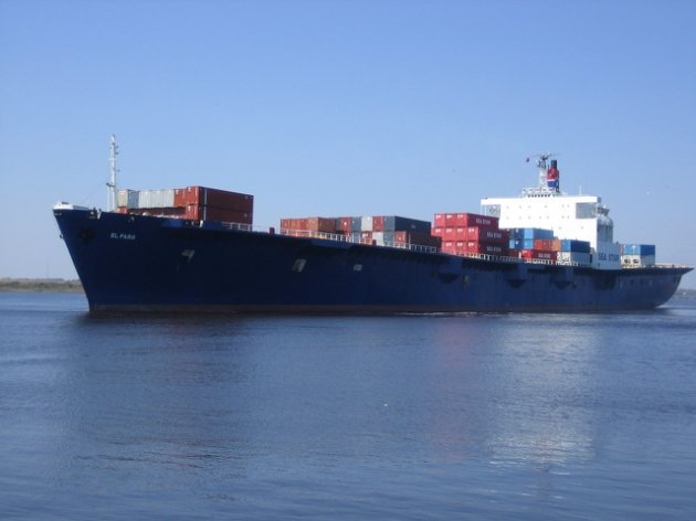 El buque carguero El Faro. (AFP/Tote Maritime)