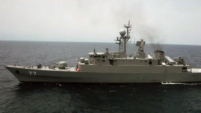 El destructor Damavand de la Armada de Irán / Youtube / Fartash Rezaei