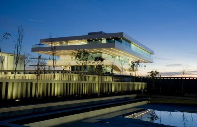 Edificio Veles e Vents. (Marina Real Juan Carlos I)