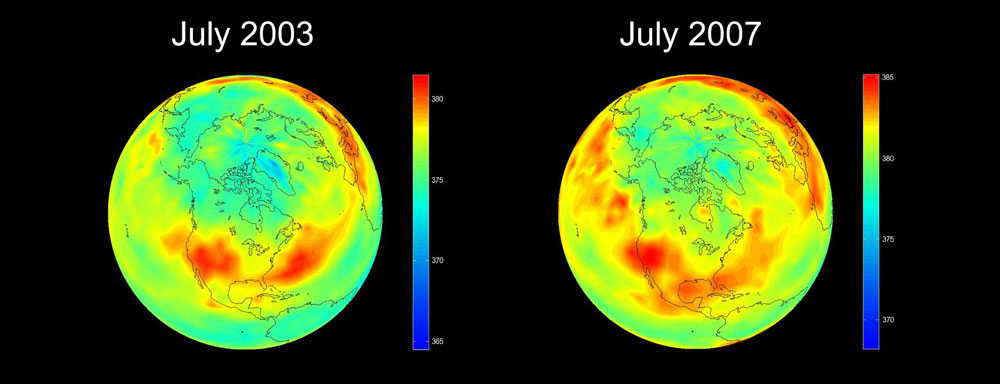 aumento CO2