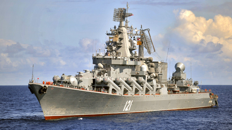 Crucero de misiles ruso Moskvá