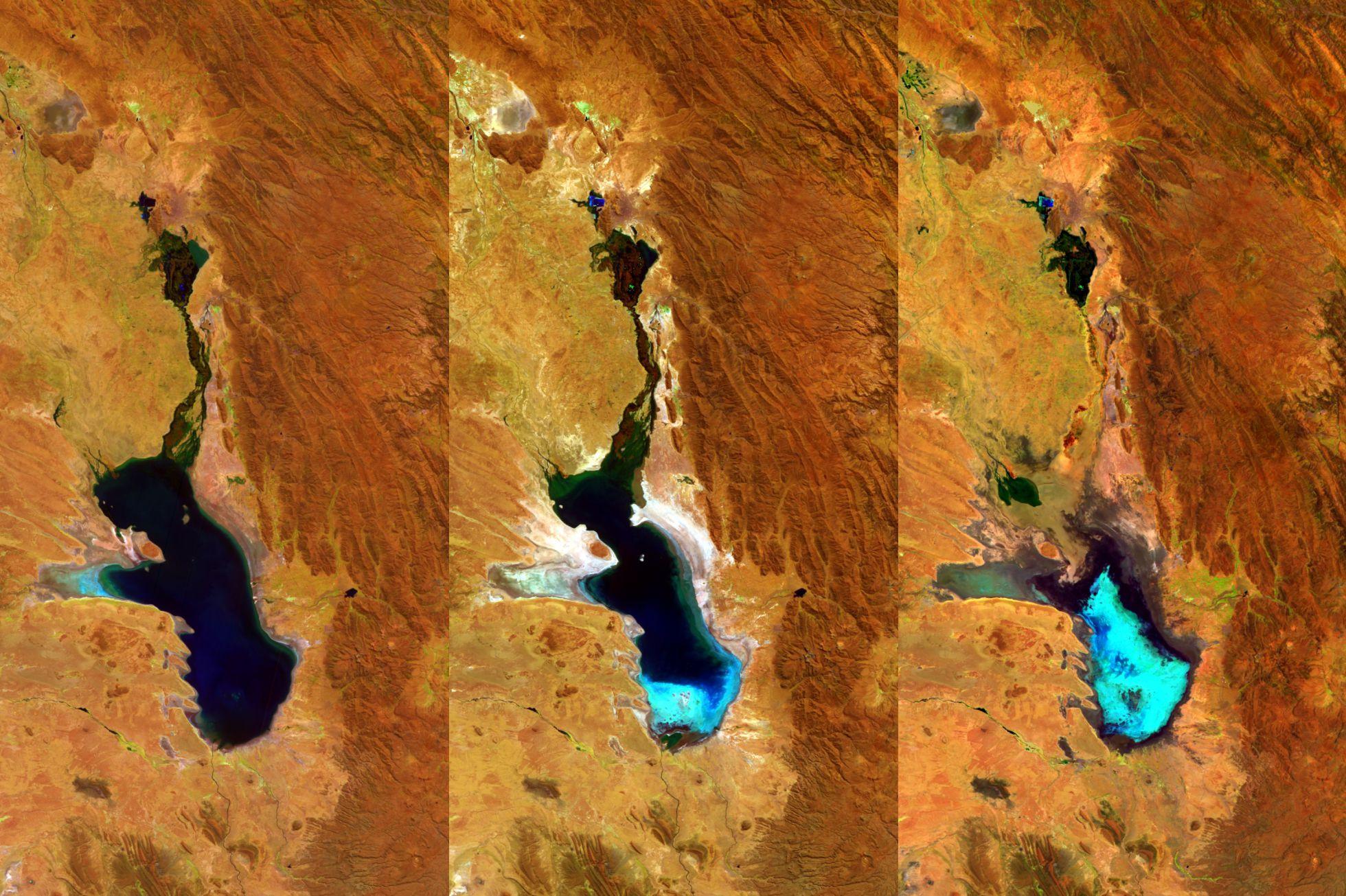 Lago  Poopó de Bolivia